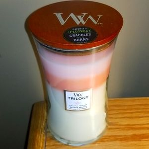 WOODWICK TRILOGY CANDLE 21.5